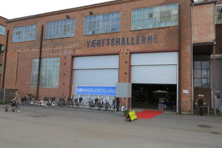 Kunstudstilling i værftshallen i Helsingør 2017