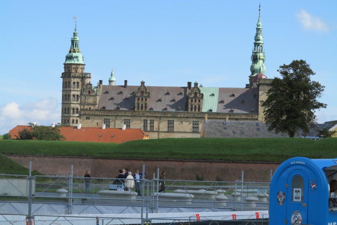Udsigt til Kronborg fra Hal 14