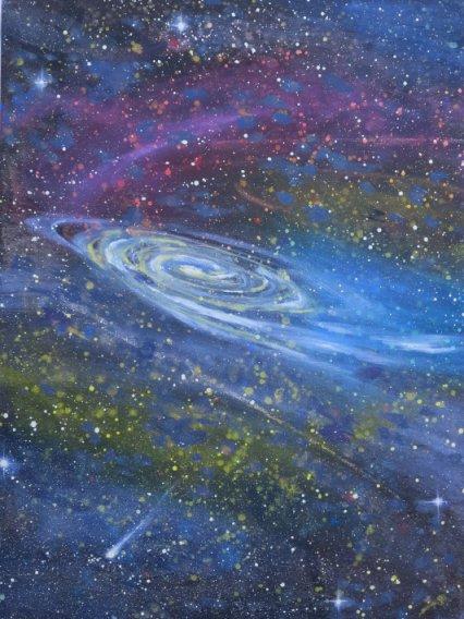 Hillerod Kunstdage 2013 - Lars Stounbergs maleri galakse