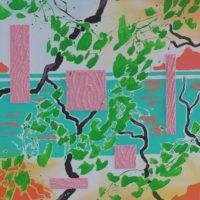 Inspiration Grækenland maleri Billedkunstner Odder Lars Stounberg 2012