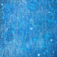 Farverigt moderne maleri - Stjernehimmel 2010 - Billedkunstner Odder Lars Stounberg
