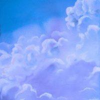 Maleri - Skyer og himmel 2007 - Billedkunstner Odder Lars Stounberg