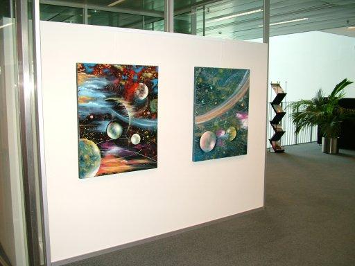 Udstilling af malerier i kunstforeningen Rederiet Torm, Hellerup, 2011