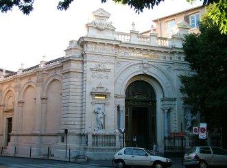 Udstillingsbygning i Nîmes