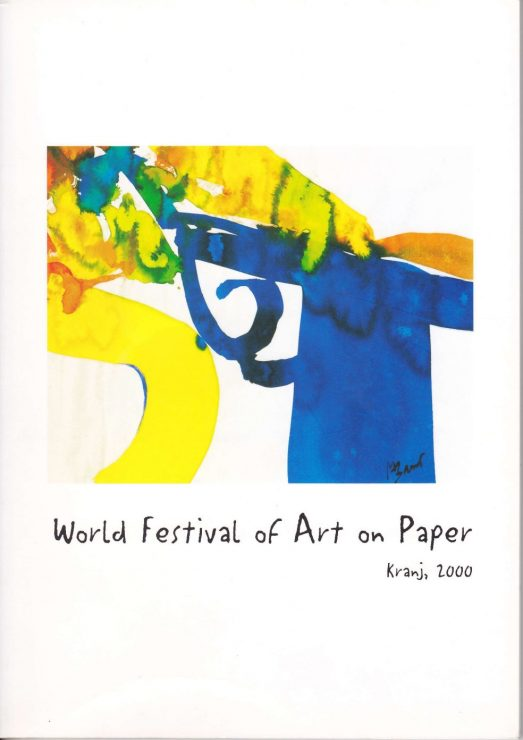 Katalog forside - World Festival of Art on Paper 2000